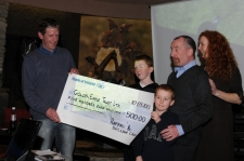Declan Cairney donates profits to Golden Eagle<br>Trust